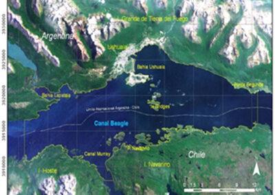 Emisario submarino de la Ciudad de Ushuaia, Canal de Beagle