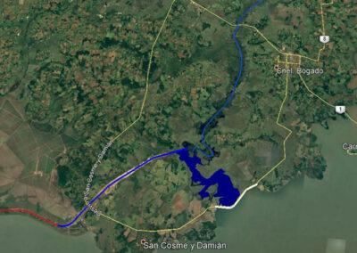 Sistema presa Aguapey